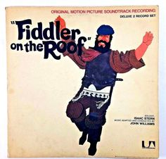 Fiddler on the Roof original motion picture soundtrack recording 2 record set