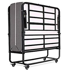 Smile Back Folding Bed Rollaway Bed with Mattress for Adults Fold Foldable Guest Beds Portable Beds Twin Size, 5 Inch Memory Foam Mattress, No Tools Required, Easy To Assemble Folding Bed Frame, Folding Guest Bed, Folding Beds, Futon Bed Frames, Blow Up Beds, Space Saving Beds, Roll Away Beds, Portable Bed
