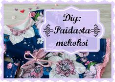 Paidasta mekoksi! - ohje kaavan muokkaamiseen ja soveltamiseen - Punatukka ja kaksi karhua Tableware, Crafts, Inspiration, Sewing Ideas, Girls, Coin Purses, Bags, Tutorials, Dime Bags