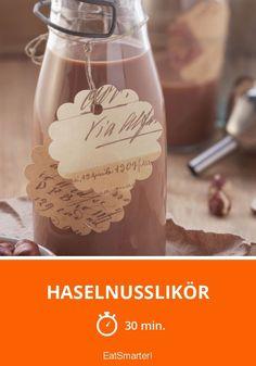Haselnusslikör - smarter - Zeit: 30 Min. | eatsmarter.de
