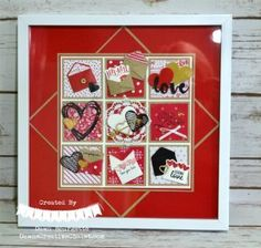 """Hello everyone! It is great to have you stop by! I wanted to share a """"sampler"""" I designed and offering a class on, this past week. I love to create for Valentin"""