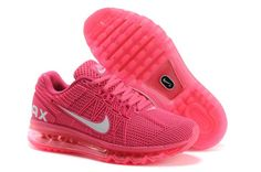 New Womens Nike Air Max 2013 Laser Pink Cherry Shoes #Lovely #pink #products cheap nike shoes