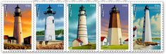 U.S. Postal Service to issue New England Lighthouse stamps