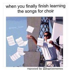 #Choir -@gmx0 #BaptistMemes