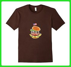 Mens 4th July Happy America Day Shirt Medium Brown - Holiday and seasonal shirts (*Amazon Partner-Link)