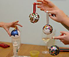 """A """"Make Your Own Ornament"""" Party - Taylor Made"""