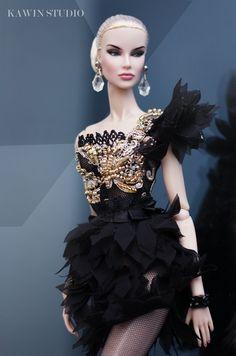 Barbie Gowns, Barbie Dress, Fashion Royalty Dolls, Fashion Dolls, Couture Fashion, Fashion Beauty, Barbie Mode, Poppy Parker, Moda Fashion