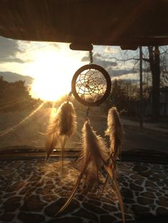 Day dream Catcher Car Mirror Ornament by AmericanAntiquitas, $14.00