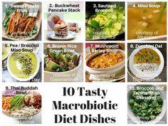 Macrobiotic Diet Facts + Our Top 10 Tasty Macro Recipes Macrobiotic Diet Facts + Our Top 10 Tasty Macro Recipes – Your Lifestyle Options Macrobiotic Recipes, Macrobiotic Diet, Healthy Diet Recipes, Healthy Eating, Vegan Recipes, Healthy Food, Macro Diet Plan, Macro Meals, Macro Recipes