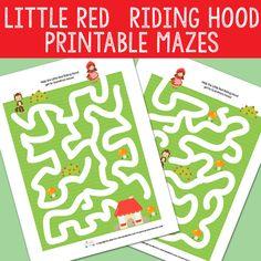 Little Red Riding Hood Mazes