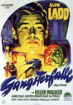 Saskatchewan Alan Ladd movie poster | Poster artwork courtesy of Dieter