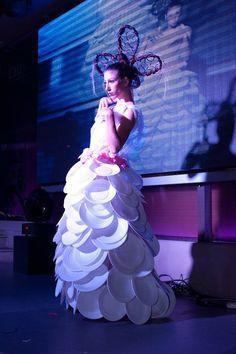 plates - Repurposed Fashion | Trashion | Refashion | Upcycled Fashion