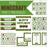SIXTY FIVE Minecraft activities for learning, all FREE!