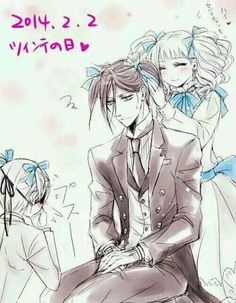 Sebastian: Why me? As I made the contract, I didn't know I must endure such things...
