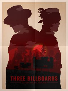 Oscar Pop! The 2018 Best Picture Nominees as Pop Art Posters – Three Billboards Outside Ebbing, Missouri Movie Poster