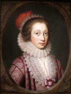 1619 Portrait of a Woman (Alethea Howard, Countess of Arundel), by Cornelius Janssen van Ceulen