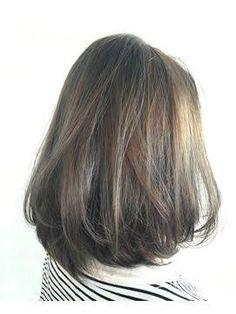 Resultado de imagen para korean medium hairstyle back