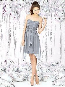 Social Bridesmaids 8120 #gray #bridesmaid #dress