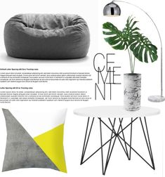 Get The Style. Living Room Cement Inspiration - findawaybyjwp.com #homedecor #decoration #homestyling #livingroom #minimal