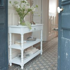 1000 images about mdm ind modables on pinterest - Table console blanche ...
