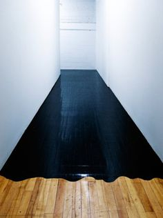 This must be the most beautiful and interesting flooring combination ive ever come across...wish id thought of that