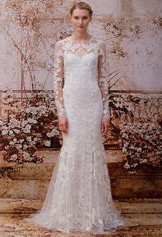 Monique Lhuillier Wedding Dresses Spring 2014/ Reese