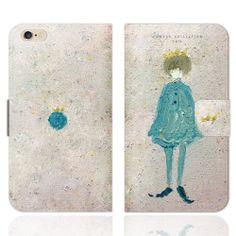 地球王子 iPhoneケース手帳型