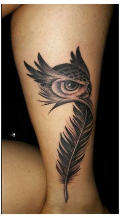 Owl Tattoo Design, Tattoo Designs, Feather Tattoo Design, Body Art Tattoos, Sleeve Tattoos, Tatoos, Phoenix Tattoo Sleeve, Life Tattoos, Wing Tattoos