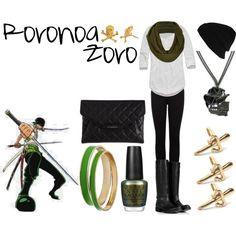 """Roronoa Zoro"" by casualanime on Polyvore"