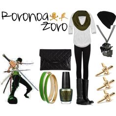 """Roronoa Zoro"" by casualanime on Polyvore"