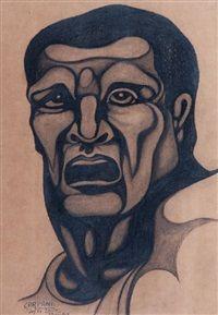 HOMBRE von Ricardo Carpani Face Art, Art, Portrait, Portrait Tattoo