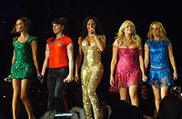 Spice Girls became one of the biggest global pop acts of the decade.