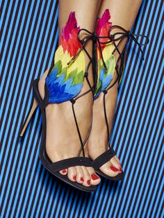 EDGARDO OSORIO FOR SALVATORE FERRAGAMO Evoking Salvatore Ferragamo's unique creative vision and personal archive, the Edgardo Osorio for Salvatore Ferragamo capsule collection sees the acclaimed young shoe designer playfully channel our founder's iconic designs from the 30's, 40's and 50's, and reinterpret them for the contemporary woman. #FerragamoCapsule Discover more: http://icons.ferragamo.com/