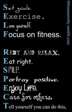 Self Respect - All So True!