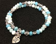 Cool Breeze Memory Wire Bracelet  From my Auntie's shop