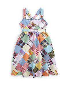 Ralph Lauren Toddler's & Little Girls Patchwork Maxi Dress