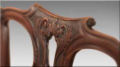 Chippendale stílusú antik bútor Georgian Furniture, Shabby Chic, Mirror, Brit, Modern, Vintage, Home Decor, Jewelry Necklaces, Antique Furniture