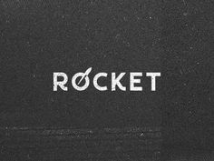 Creative Logo, Rocket, Branding, and Texture image ideas & inspiration on Designspiration Typography Logo, Logo Branding, Typography Design, Branding Design, Lettering, Typography Inspiration, Graphic Design Inspiration, Design Ideas, Rockets Logo