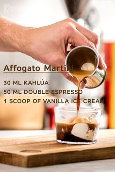 Classic Kahlúa drinks like the White Russian, Espresso Martini, Mind Eraser and Kahlua Sour. Our bartender is ready to show you how to make 'em. Fancy Drinks, Summer Drinks, Starbucks Drinks, Coffee Drinks, Dessert Drinks, Dessert Recipes, Kitchen Recipes, Cooking Recipes, Delicious Desserts