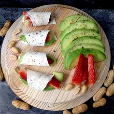 My Casual Brunch: Mini wraps de abacate e morango