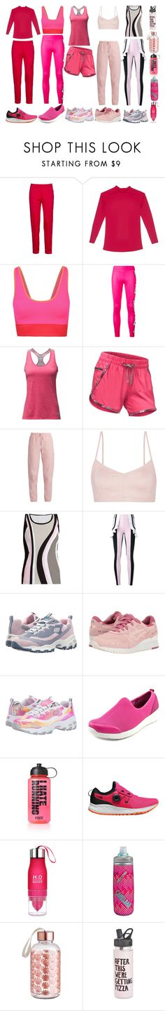 """""""Pink Fairly"""" by quinn-avina ❤ liked on Polyvore featuring MSGM, Cosabella, adidas, The North Face, Vetements, Live the Process, No Ka'Oi, Skechers, Asics Tiger and Easy Spirit"""