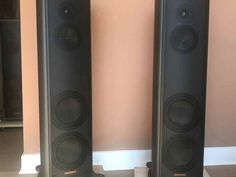 """Magico S3 MKII for sale. I've owned these speakers since they were new, since April of 2017. The S3 Mk2s are arguably positioned at the""""sweet spot"""" of the entire Magico line. These look new—the M-Cast finish is very forgiv... Price Reduction, Speakers, It Cast, Audio, This Or That Questions, Sweet, Candy, Loudspeaker"""