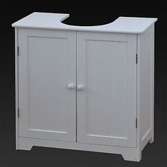 #White under sink #basin cabinet cupboard #bathroom furniture storage unit,  View more on the LINK: http://www.zeppy.io/product/gb/2/131488792471/