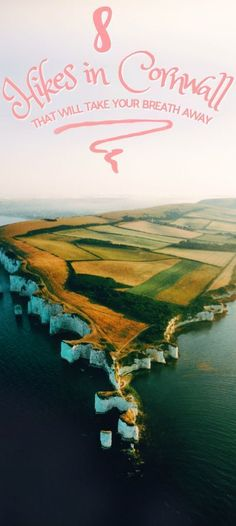 Cornwall features beautiful English countryside, English beaches, amazing hikes and the whole lot! Here are 8 hikes in Cornwall you'll love! The Places Youll Go, Cool Places To Visit, Cornwall Cottages, Cornwall Beaches, Cornwall England, Yorkshire England, Yorkshire Dales, Nature Beach, English Countryside