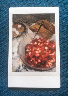 Strawberry shortcake buffet. Perfect summer treat!