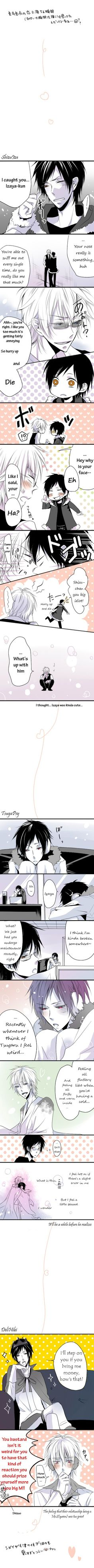 Tags: Anime, Fanart, Comic, Pixiv, Durarara!!