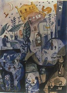 Salvador Dali. Les premiers jours du printemps 1922