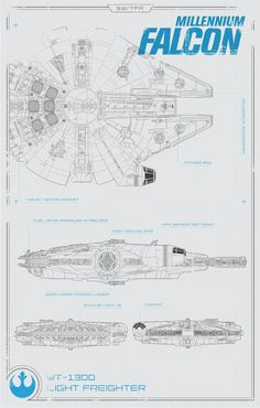 The Force Awakens Millennium Falcon Projects - Page 11