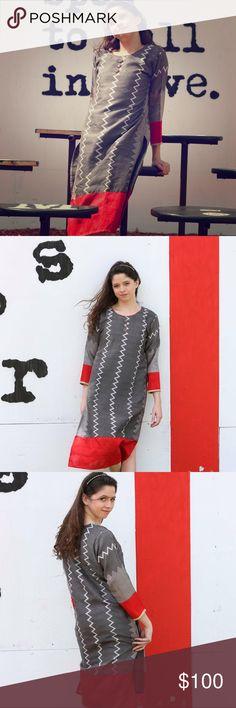 Vintage Silk Jeweled Caftan Dress size Small Vintage Silk Jeweled Caftan Dress size Small Vintage Dresses Maxi
