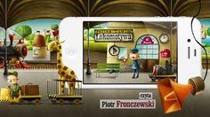 Lokomotywa - Julian Tuwim, aplikacja na iPhone, iPad, iPod Touch by Big Rabbit. Już wkrótce w AppStore! Ponadczasowy wiersz dla dzieci w zupełnie nowej i bardzo atrakcyjnej odsłonie. W roli lektora Piotr Fronczewski.